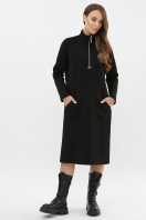 . Платье Айсин д/р. Цвет: черный