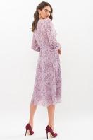 . Платье Алеста д/р. Цвет: сиреневый-голуб.м.цветок
