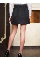 . юбка мод. №3. Цвет: черный