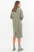 . Платье Айсин д/р. Цвет: св.хаки