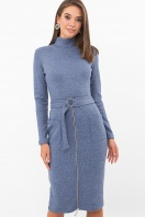 . Платье Виталина 1 д/р. Цвет: джинс