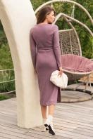 . Платье Пина д/р. Цвет: т. лиловый