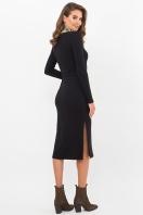 . Платье Пина д/р. Цвет: черный