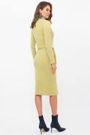 . Платье Виталина 1 д/р. Цвет: оливковый
