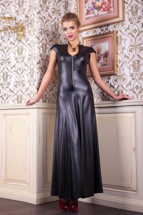 платье Колет к/р. Цвет: черный