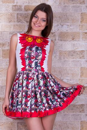 Бабочки платье Мия-2 б/р. Цвет: принт