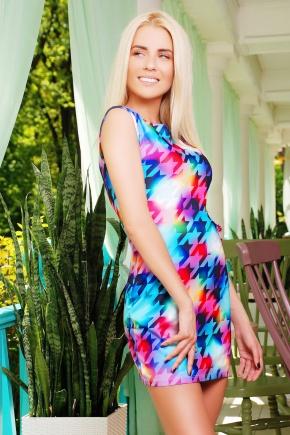 Лапка ультра платье Лея-1 б/р. Цвет: принт