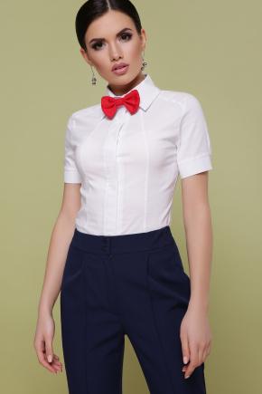 блуза Норма к/р. Цвет: белый
