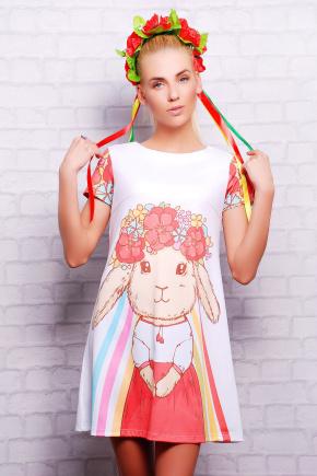 Зайка платье Тая-3 к/р. Цвет: принт