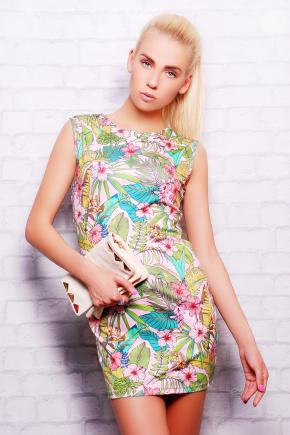 Нежные цветы платье Лея-1 б/р. Цвет: принт