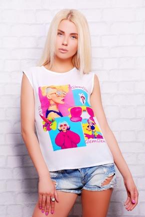 Яркость футболка Киви б/р. Цвет: принт