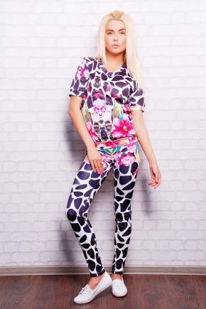 Цветной жираф Костюм Леся1. Цвет: принт