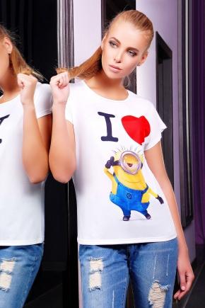 Миньон 2 футболка Кимоно. Цвет: принт