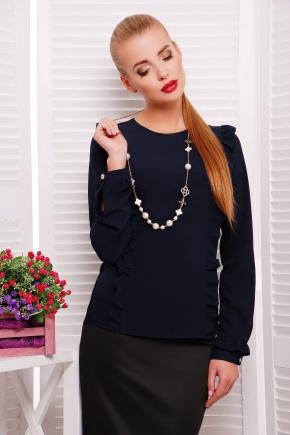 блуза Влада д/р. Цвет: темно синий