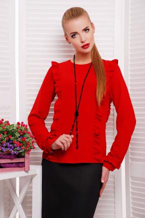 блуза Влада д/р. Цвет: красный