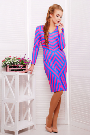 Иллюзия платье Хлоя д/р. Цвет: принт