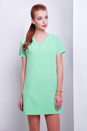 платье Космо к/р. Цвет: салатовый