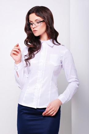 блуза Марта2 д/р. Цвет: белый