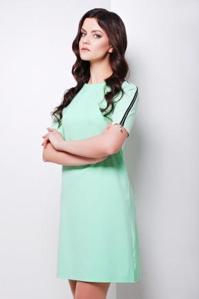 платье Ролана к/р. Цвет: салатовый