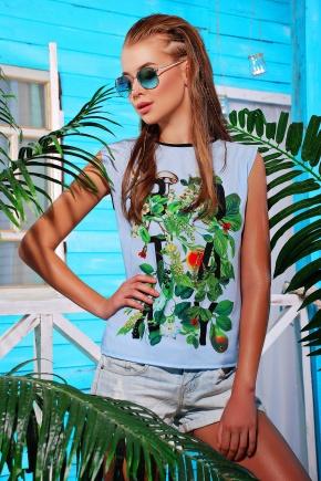 Botanly футболка Киви б/р. Цвет: принт