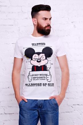 Mickey Mouse Футболка Men-2В. Цвет: принт