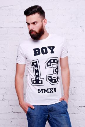 Boy 13 Футболка Men-3В. Цвет: принт