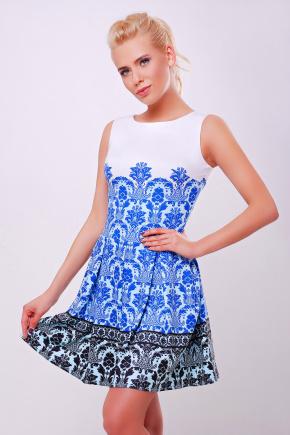 Дамаск мелкий платье Мия-1 б/р. Цвет: принт