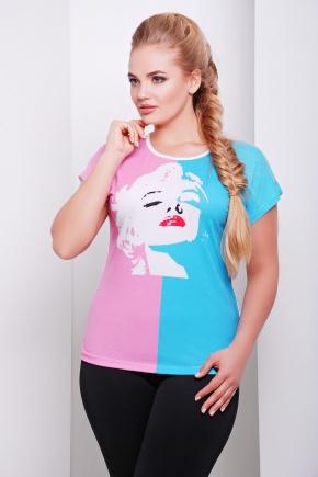 Мэрлин Монро футболка Кимоно-Б. Цвет: принт