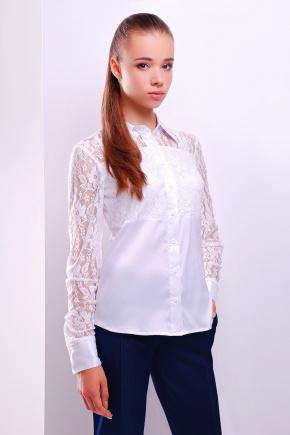 блуза Камала д/р. Цвет: белый