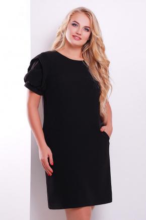 платье Бриджит-Б к/р. Цвет: черный