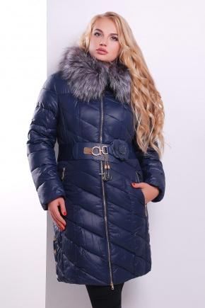 Куртка 15-129.1. Цвет: темно синий
