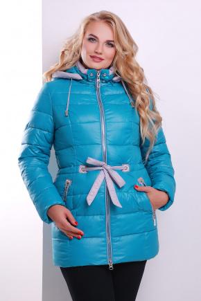 Куртка 14000. Цвет: бирюзовый