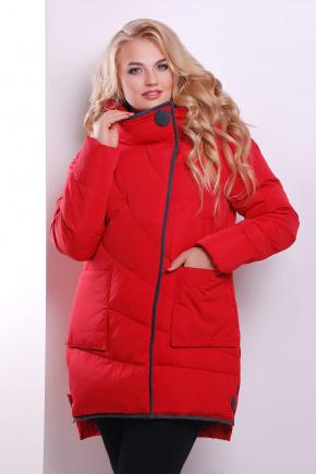 Куртка 360. Цвет: красный
