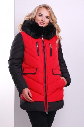 Куртка 883. Цвет: красный-черный