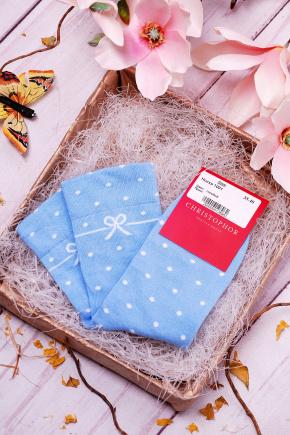 Носки 1001. Цвет: голубой