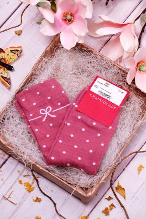 Носки 1001. Цвет: темно-розовый