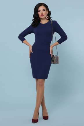 платье Модеста д/р. Цвет: темно синий