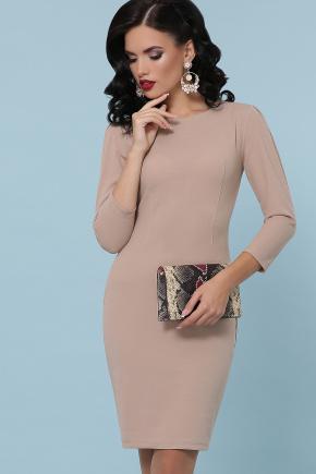 платье Модеста д/р. Цвет: бежевый