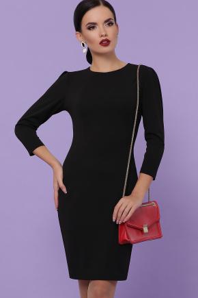 платье Модеста д/р. Цвет: черный