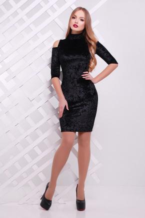 платье Вилия к/р. Цвет: черный