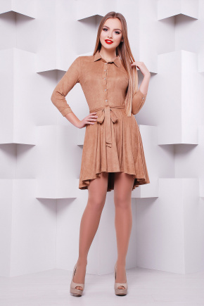платье Берклина д/р. Цвет: темно бежевый