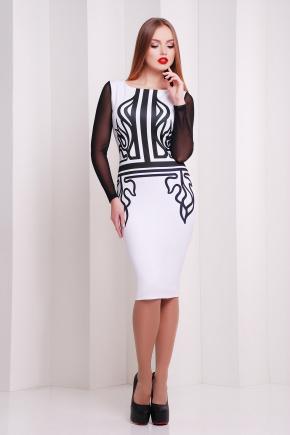 Греция платье Лоя-2КС д/р. Цвет: принт