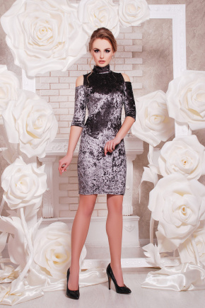платье Вилия к/р. Цвет: бронзовый