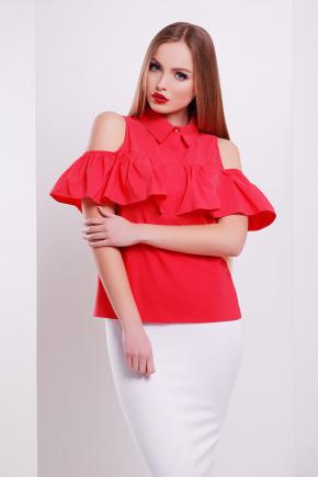 блуза Калелья б/р. Цвет: коралл