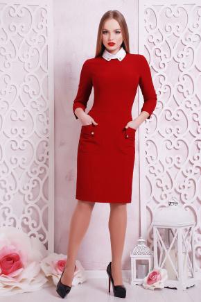 платье Андрия д/р. Цвет: темно красный
