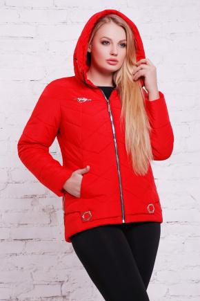 куртка Линда-Б. Цвет: красный