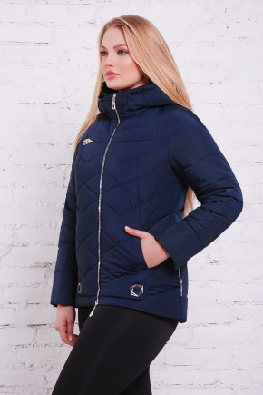 куртка Линда-Б. Цвет: синий
