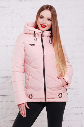 куртка Линда-Б. Цвет: розовый