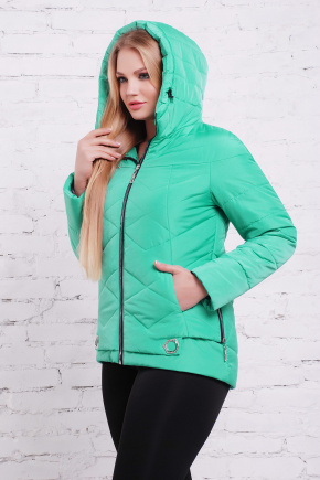 куртка Линда-Б. Цвет: бирюза