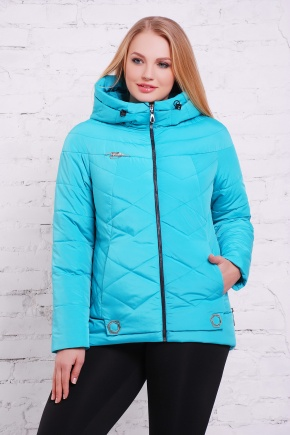 куртка Линда-Б. Цвет: морская волна